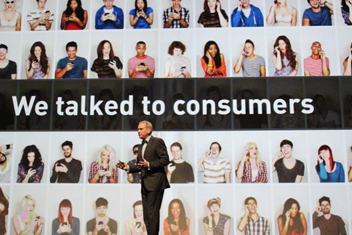 赵科林表示,华为的手机销量仍在快速增长。
