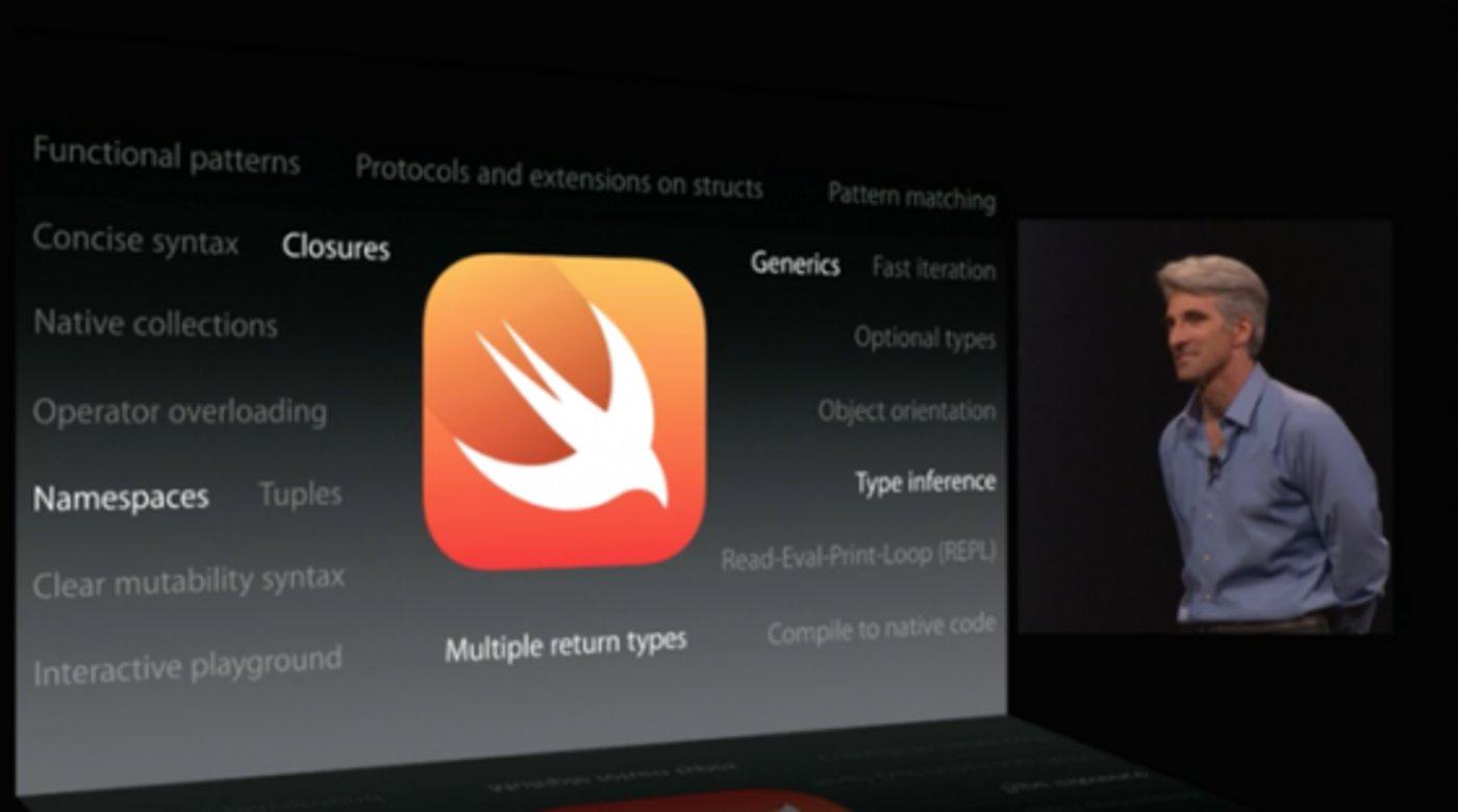开发者的福音 苹果发明全新语言Swift