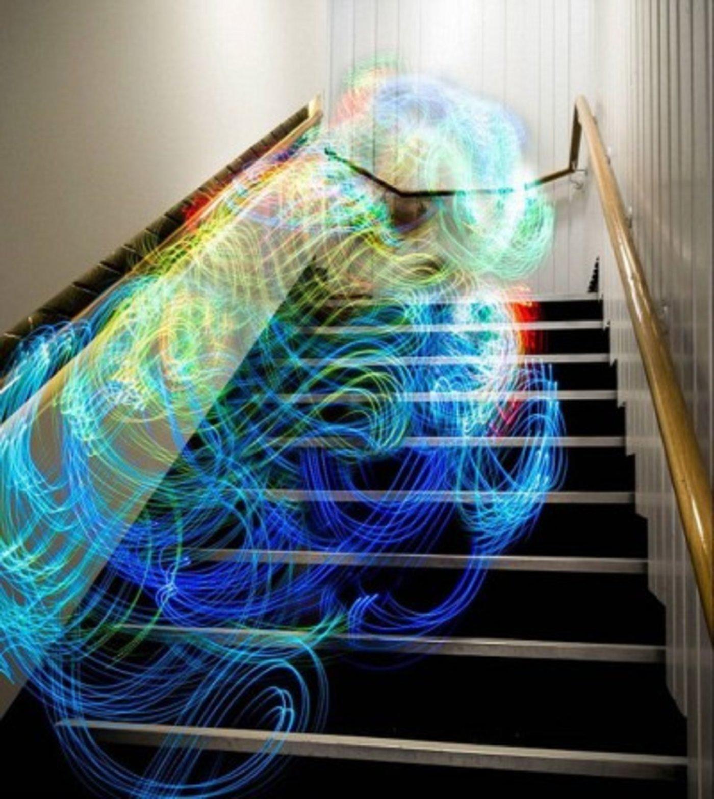wifi信号原来是这个样子滴,色彩绚丽飘忽似幽灵