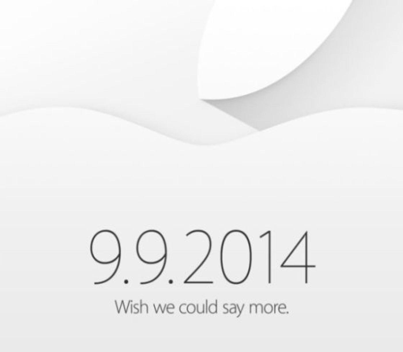 苹果邀请函