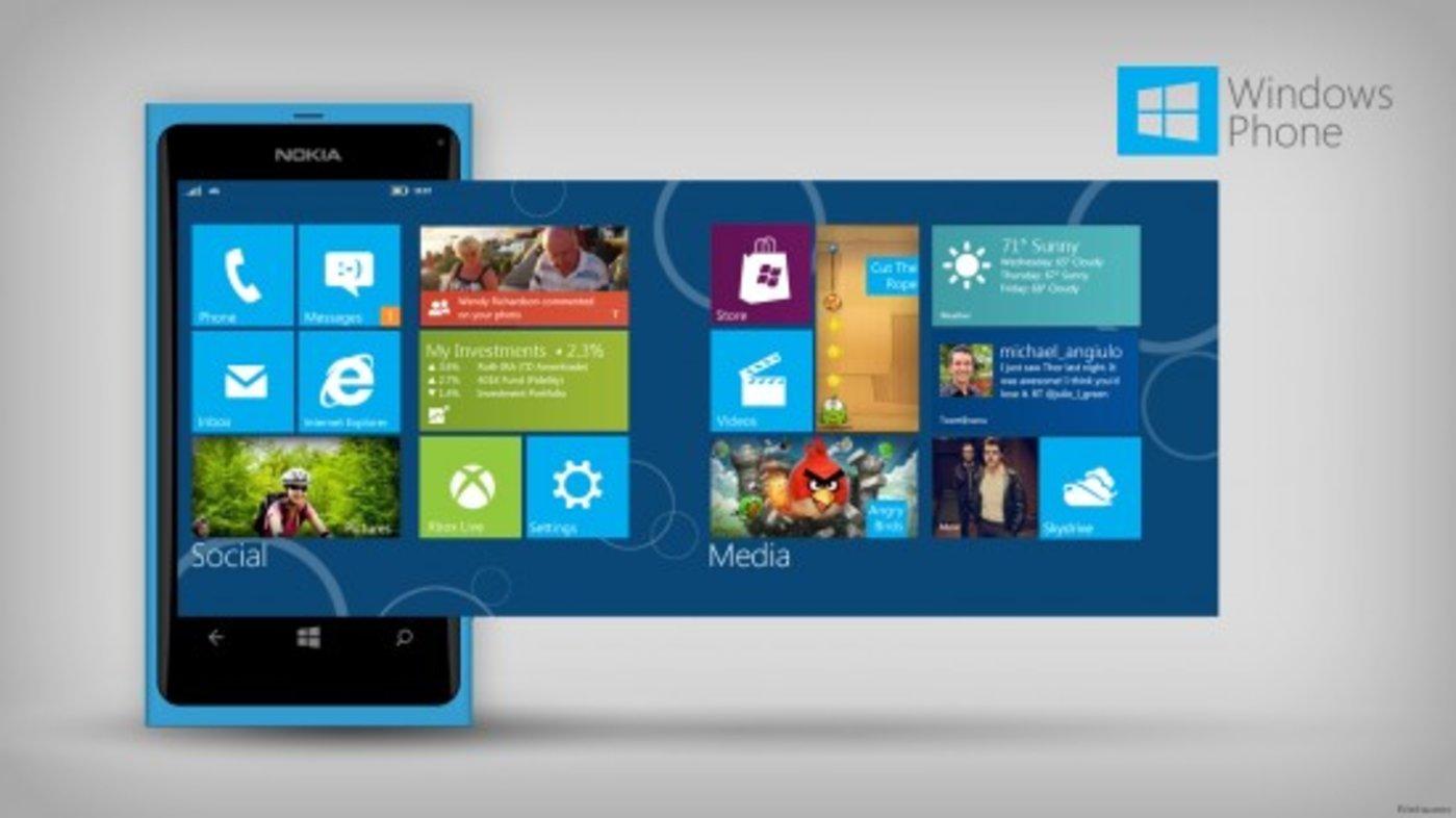 Windows Phone 8 品味:正在变平的世界