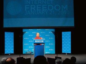 网络自由:美国国家战略新时代