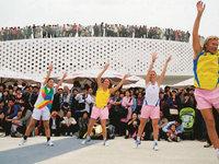流汗、微笑的团队运动——Heyrobics健身操