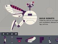 教你组装一架虚拟机器人,看看Robot Factory的创意