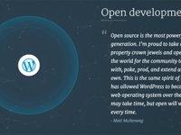 """走过12个年头,普及程度""""令人发指""""的WordPress宣布代码开源"""