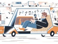 """未来取代Uber、Airbnb和Spotify的,可能是""""去中心化""""的区块链"""