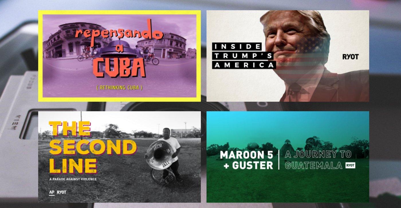 RYOT网站上的部分虚拟现实纪录片
