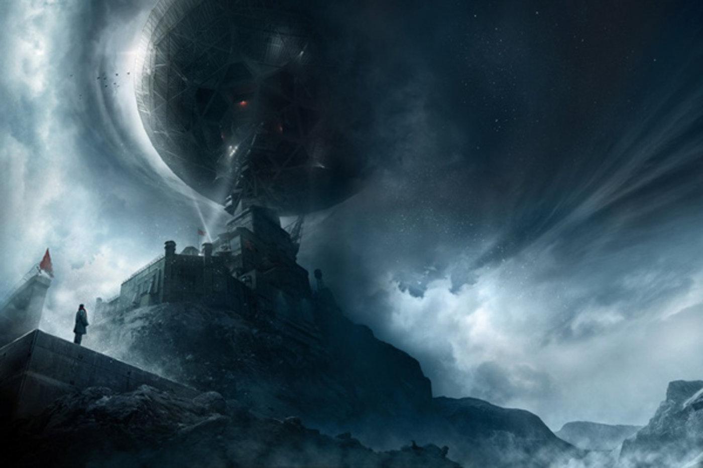 图为电影《三体》传出的剧照