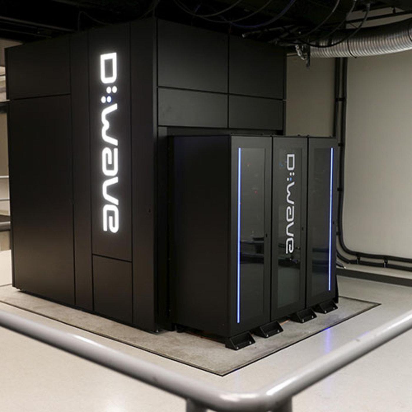D-Wave 2X 量子计算机。  (Photo by Stephen Lam/Reuters)