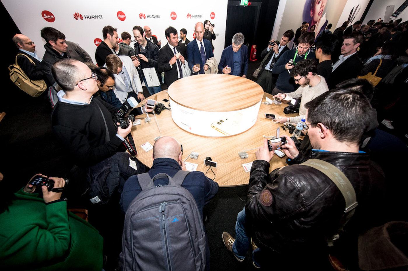 P9在伦敦发布就引发了国际媒体的关注