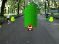 《超级马里奥》也有AR版了,戴上Hololens就能原地化身马里奥