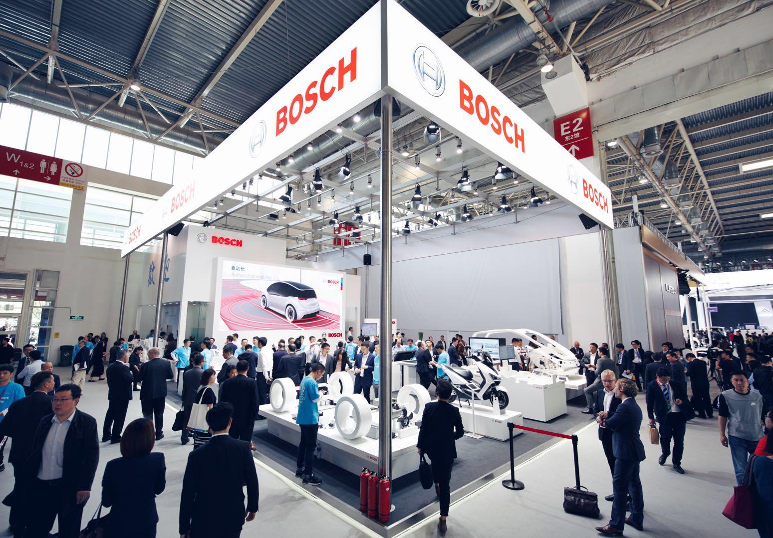 博世智能交通方案亮相北京车展,卡位自动驾驶多级要塞