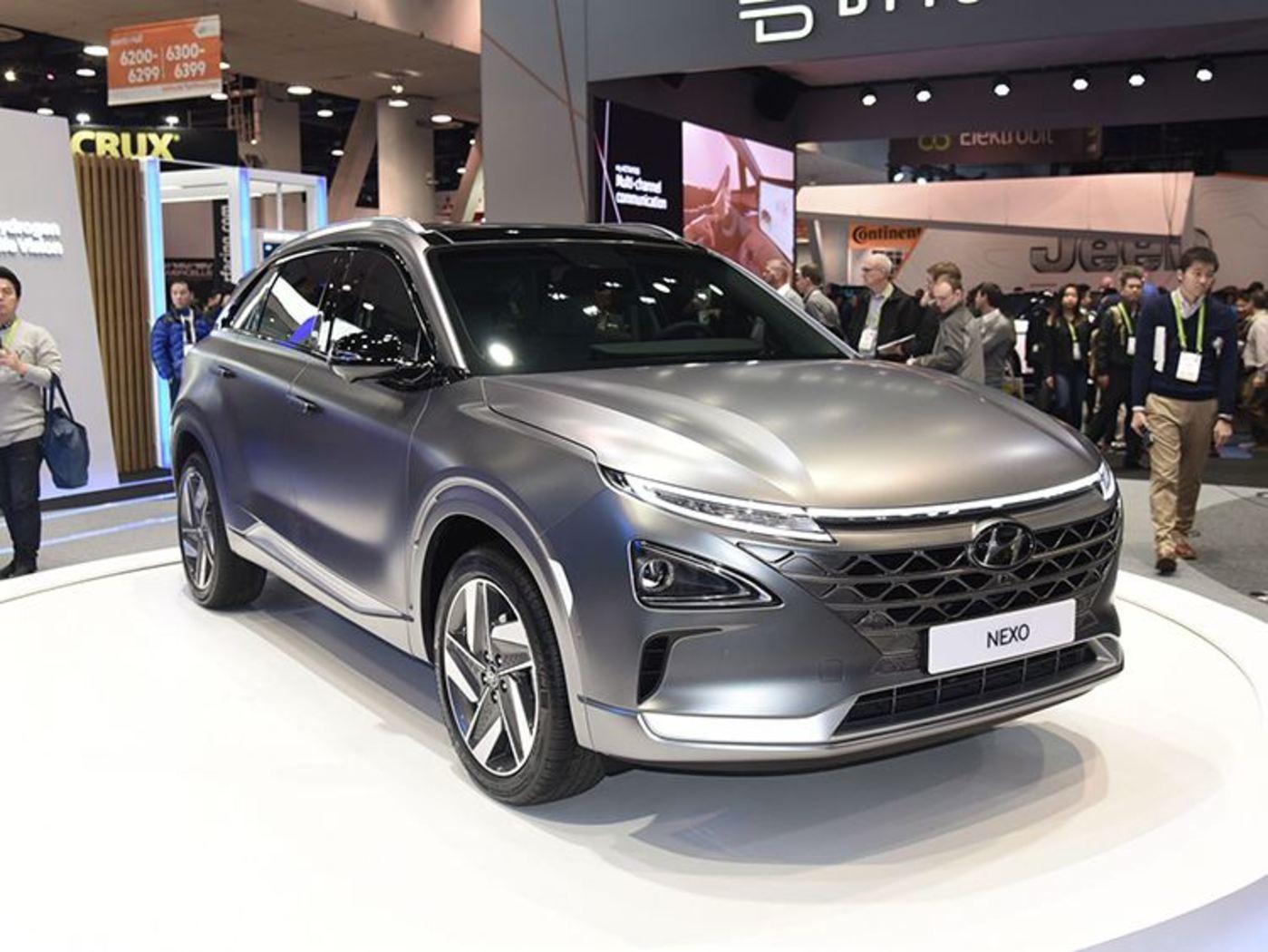 现代第二代氢燃料电池车NEXO