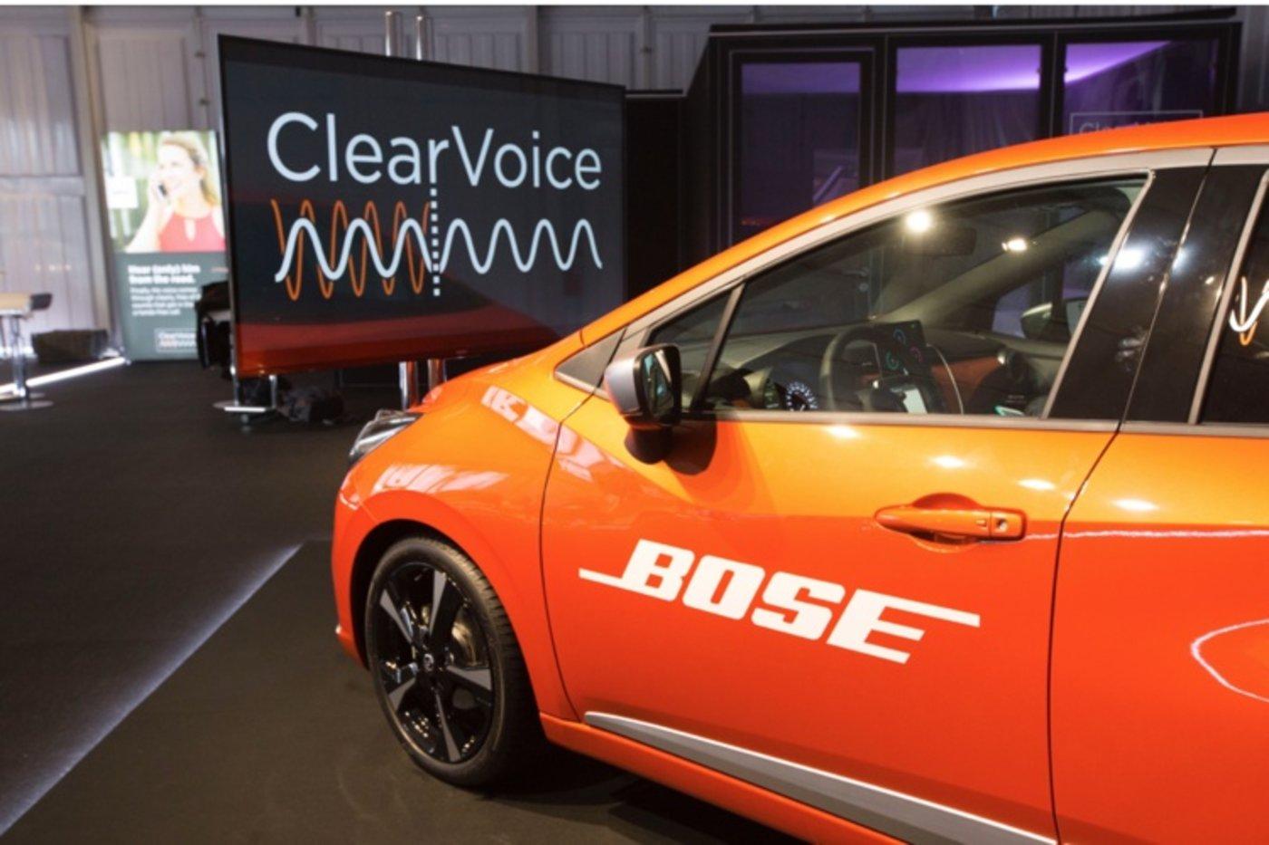 Bose ClearVoice车载语音识别技术
