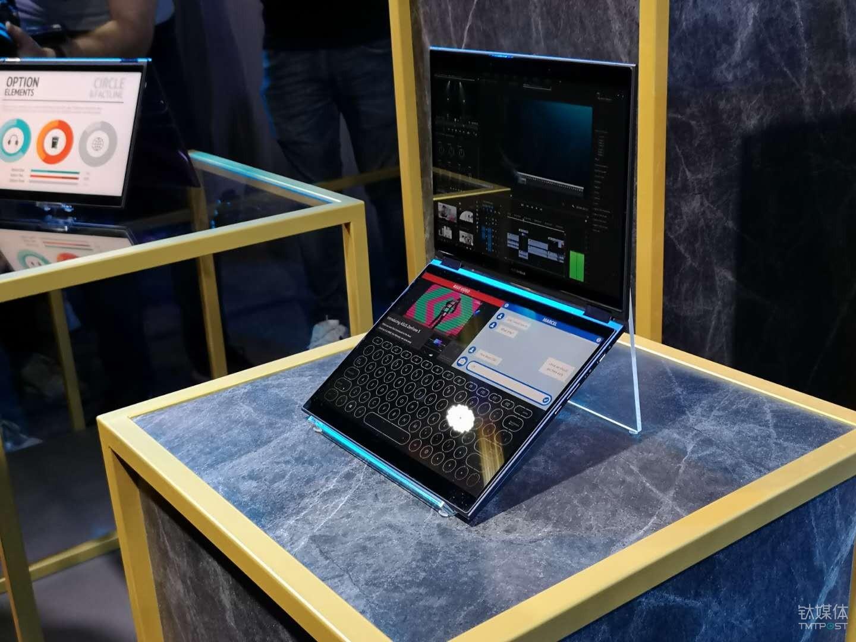完整AI方案+双屏显示,华硕发布PROJECT PRECOG概念笔记本 | 钛快讯