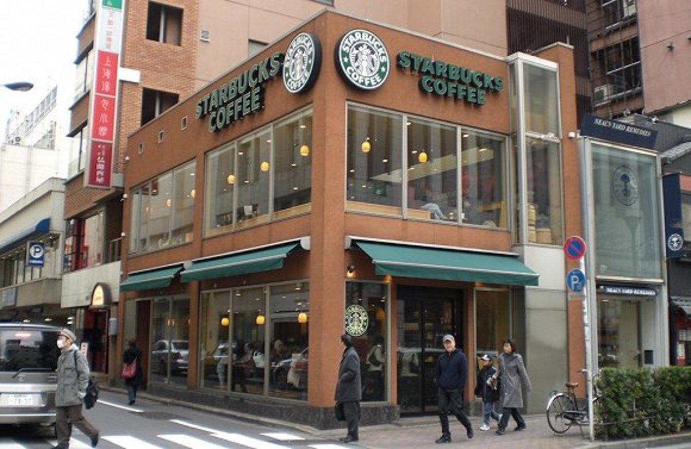 全球第一家星巴克海外门店