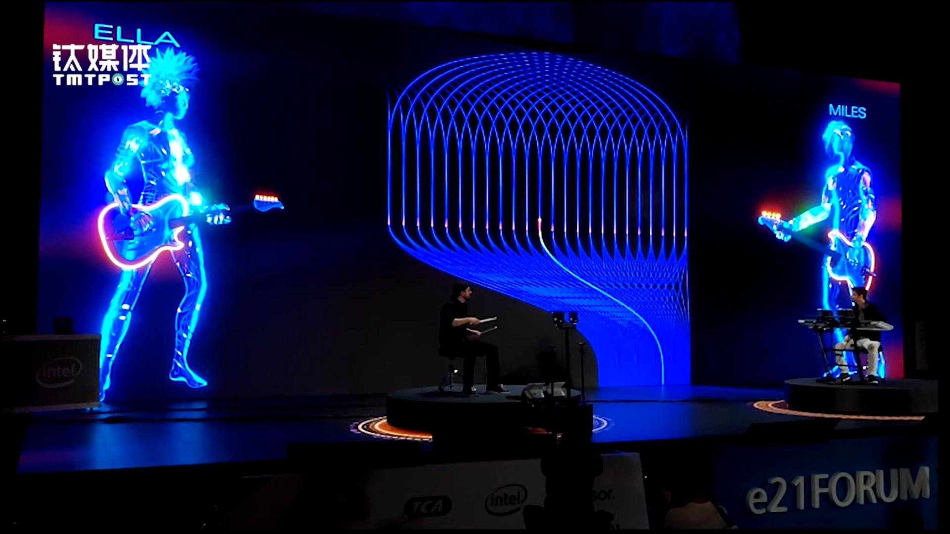 英特尔又来炫技:AI与人类共同完成演奏