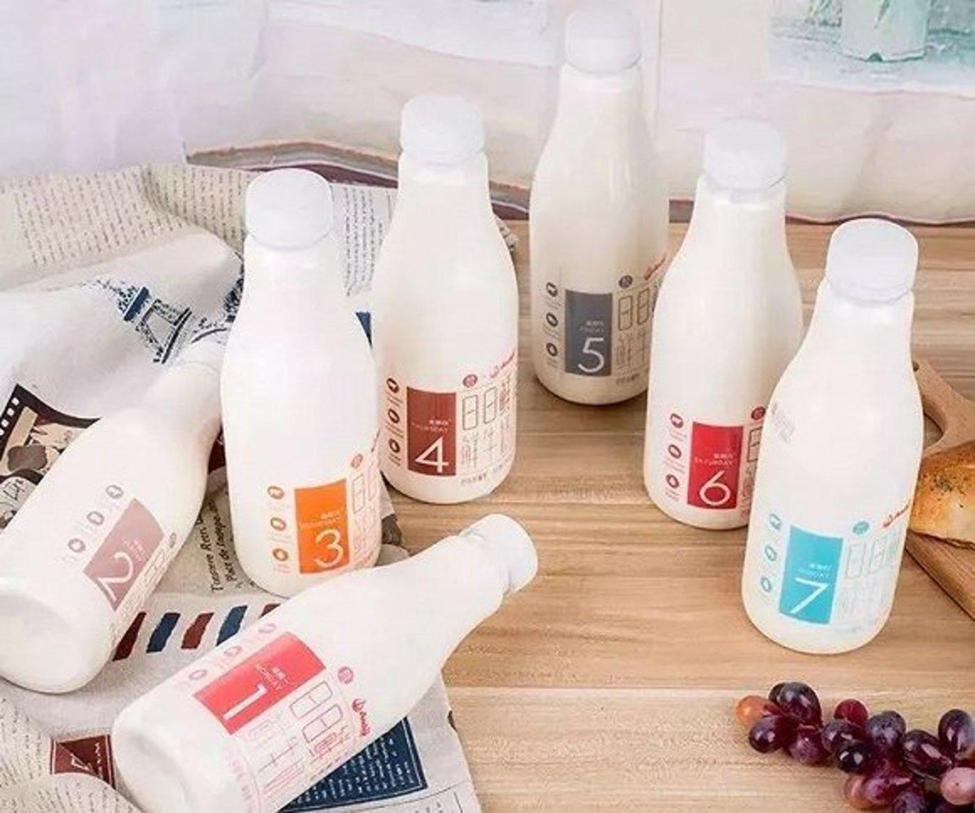 盒马与安佳联合推出的日日鲜牛奶