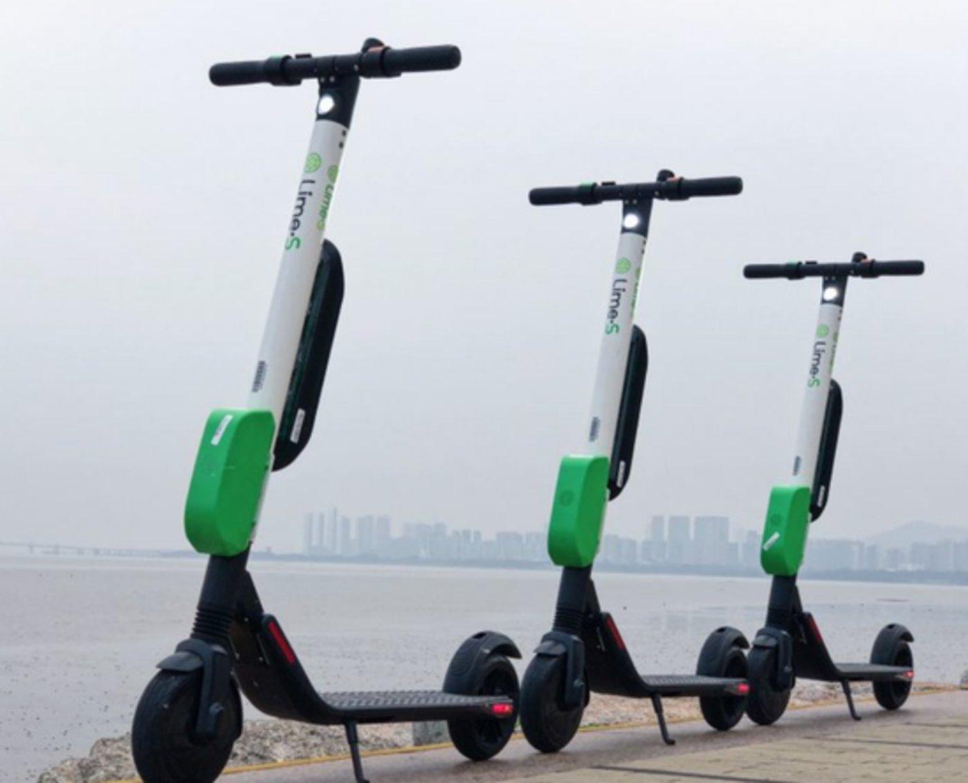 Lime与Segway公司合作研发的新式电动滑板车