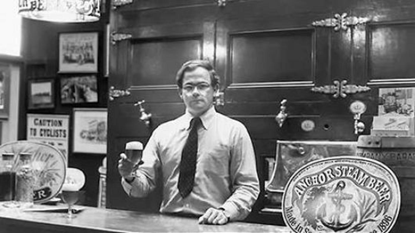 买下铁锚酒厂的Fritz Maytag,可以说是美国精酿啤酒革命元老