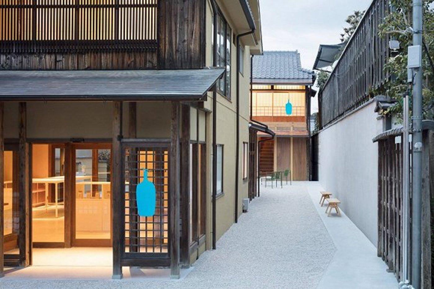 日本京都的一家Blue Bottle咖啡店