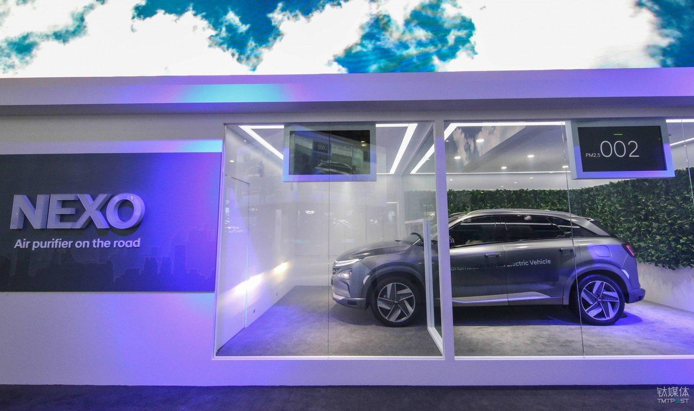 现代汽车第二代氢燃料电池量产车 NEXO