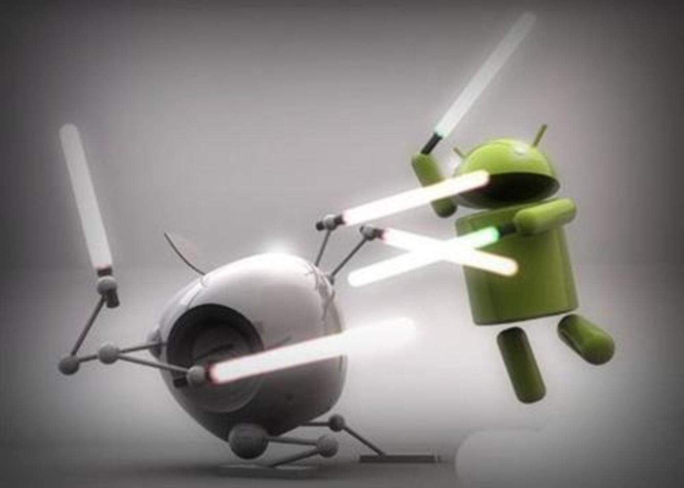 争论不休的iOS和Android