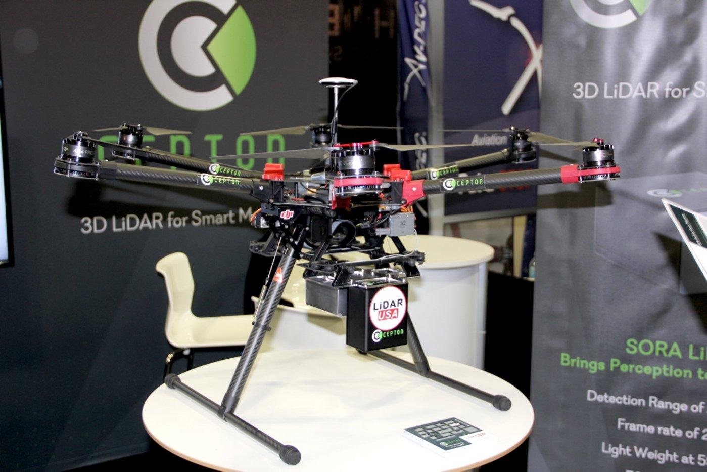 Cepton SORA200 应用于无人机上