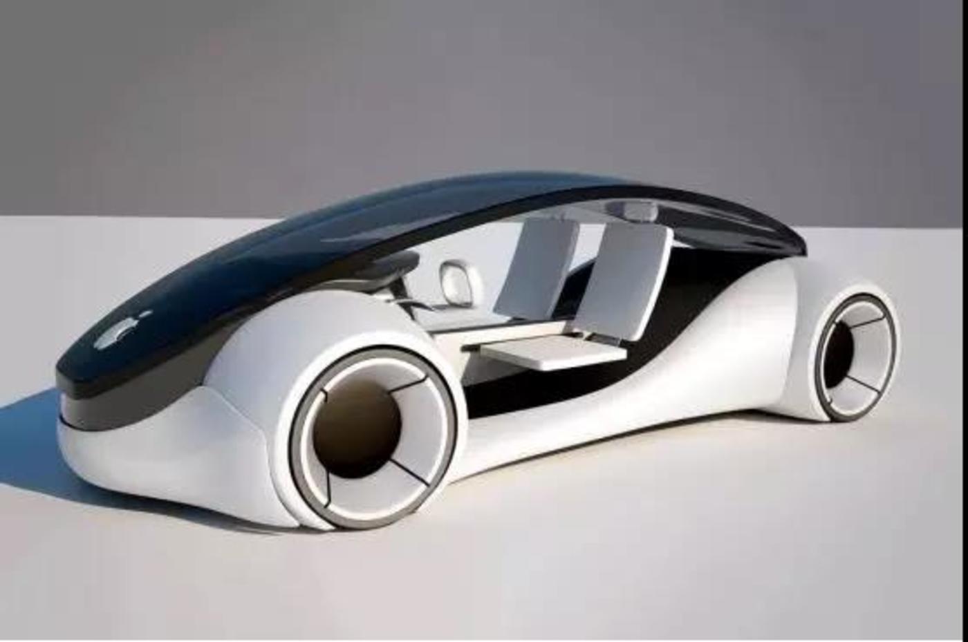 """流传于互联网上的苹果汽车建模图,据称出自于""""果粉""""之手"""
