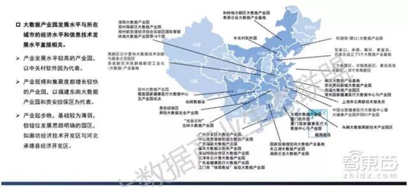 各地政府顺应数字经济发展趋势,加快设立大数据产业园