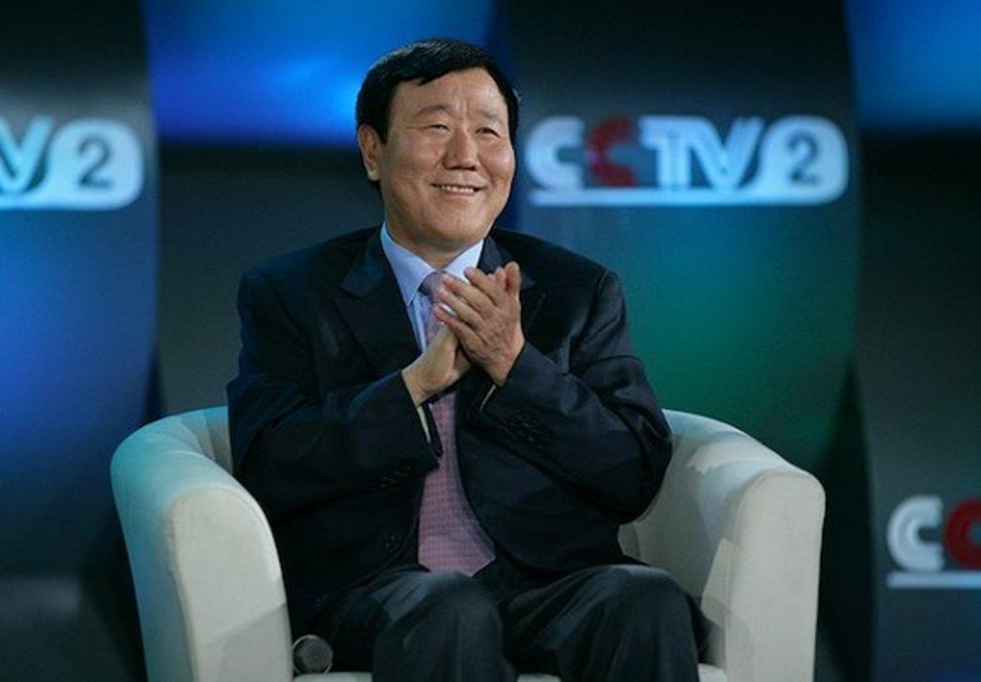 2012年8月,朱新礼在央视2套节目上