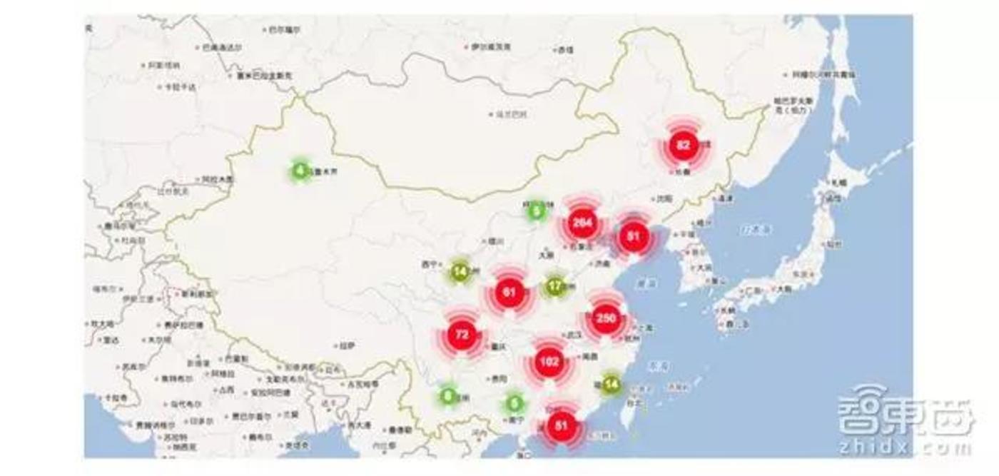 中国学者分布
