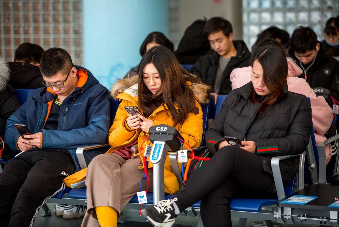 手机充电座椅,图片来源畅充科技