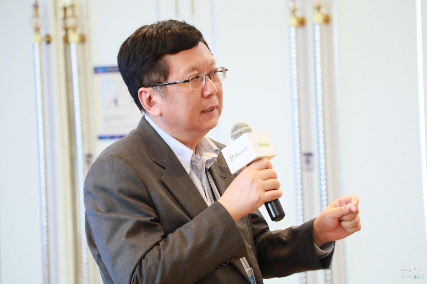 微软中国首席技术官黎江