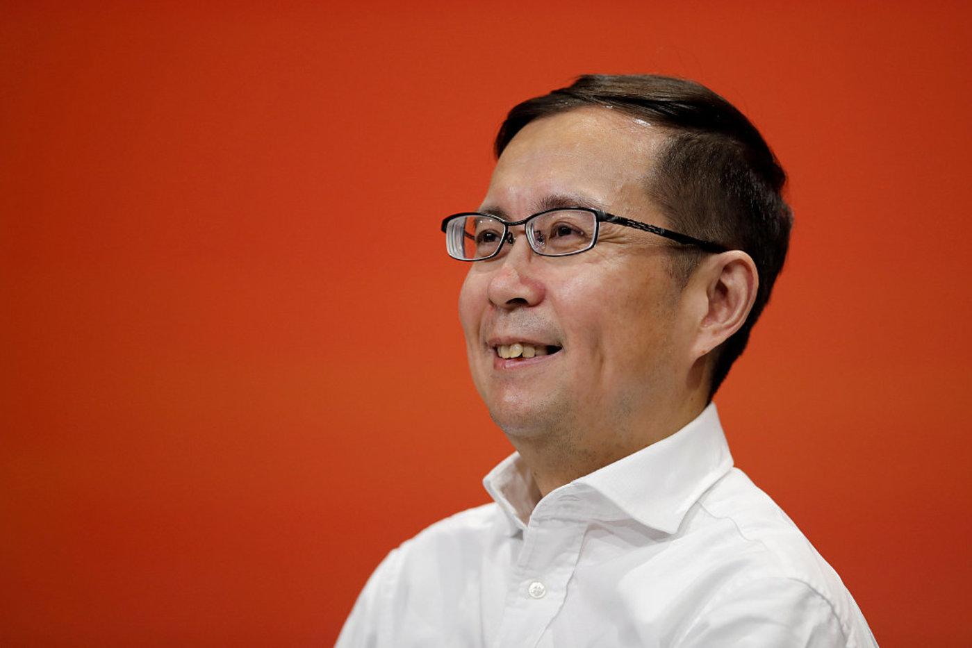 现阿里巴巴集团CEO 张勇,图片来源于视觉中国