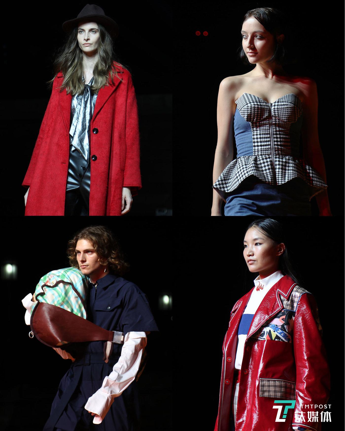 """20位中国新锐设计师带来了他们以""""万物""""为主题的时装作品,而淘宝上的一些原创设计师的作品也以""""特别秀""""的形式一一登场。"""