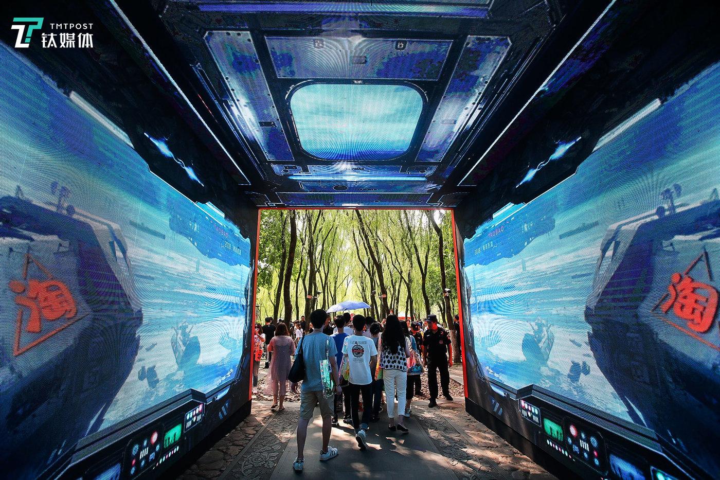 黑科技也是每年造物节的重头戏,今年的造物节专门为科技迷们搭建了一个科技馆。