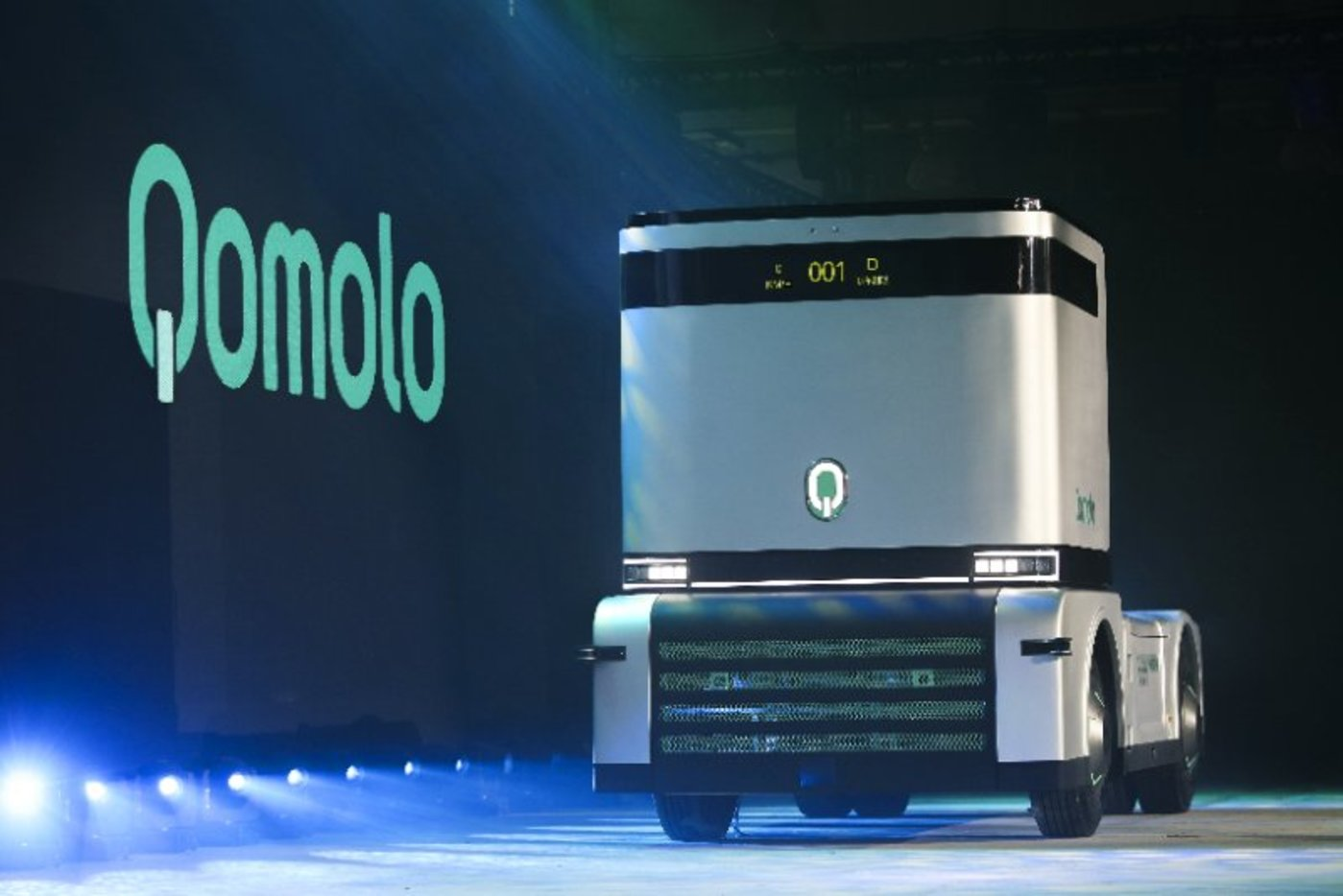 西井科技的全是电动卡车Q-Truck