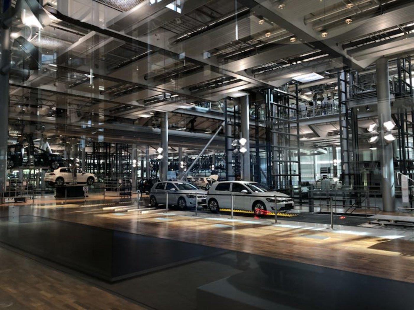 大众汽车得累斯顿透明工厂