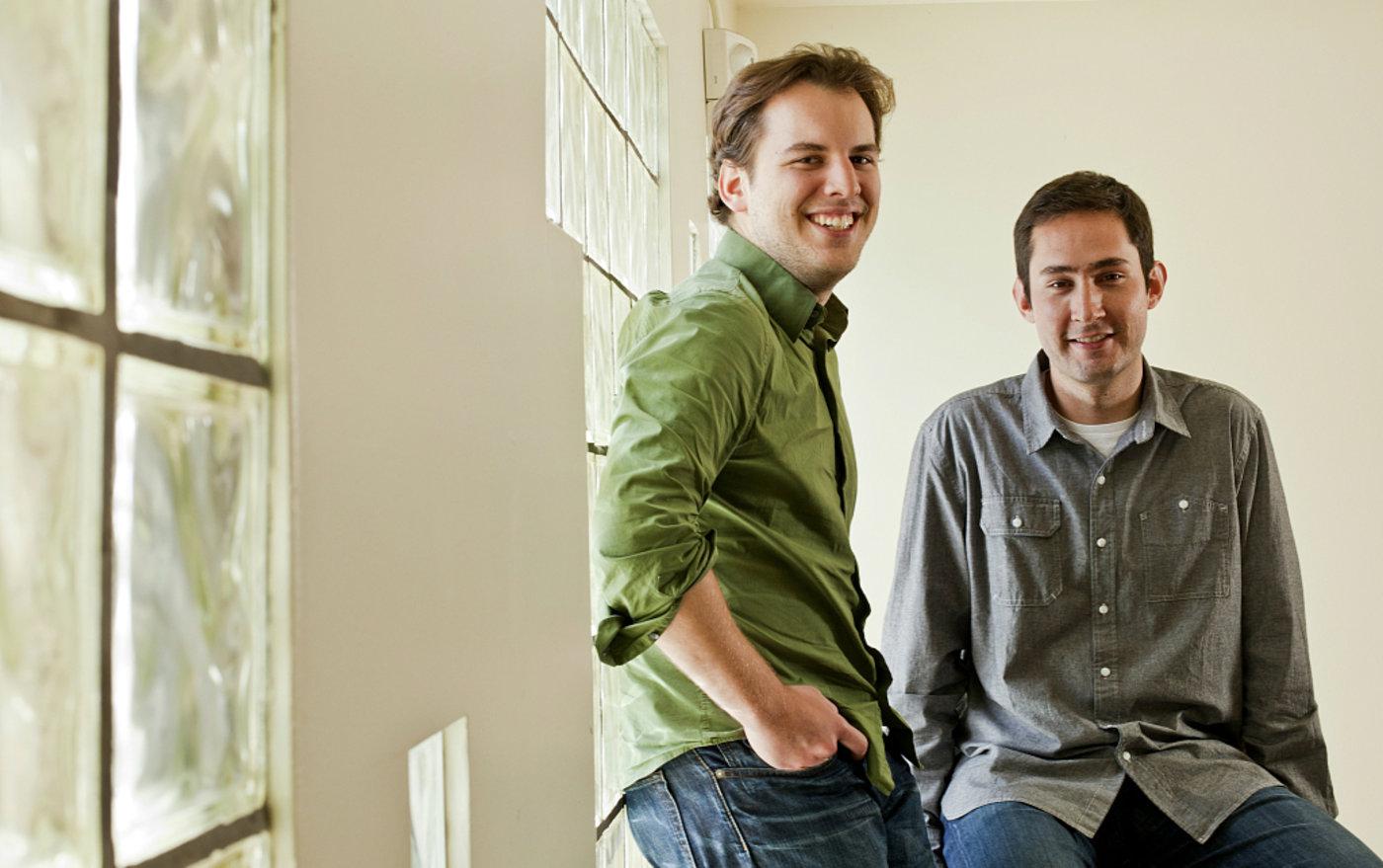 Instagram联合创始人凯文·斯特罗姆(Kevin Systrom)和迈克·克里格(Mike Krieger)
