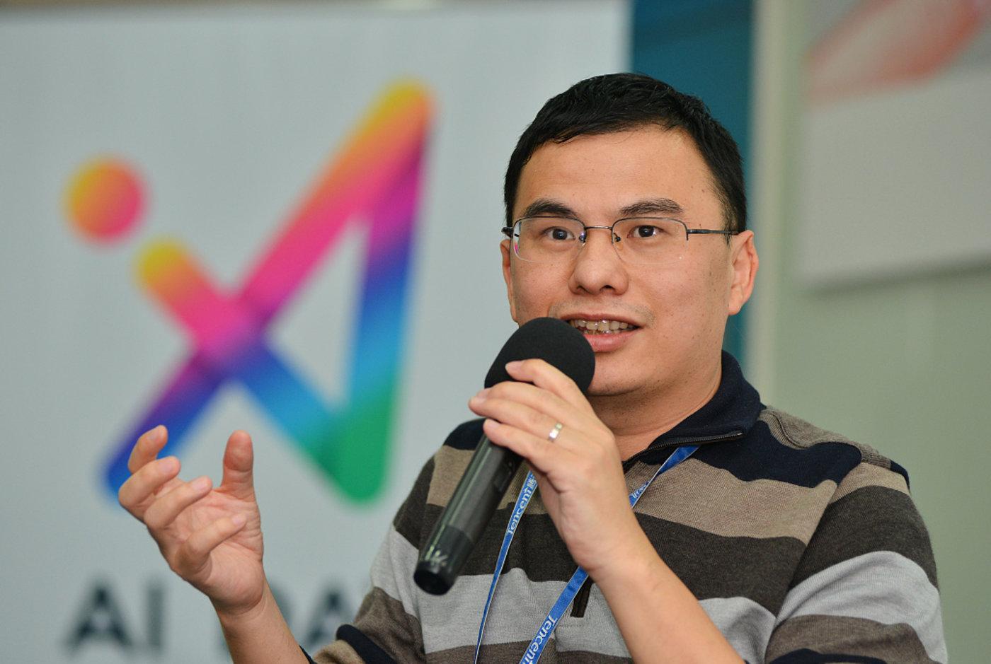 腾讯主要创始人、前 CTO 张志东。图片来源:视觉中国