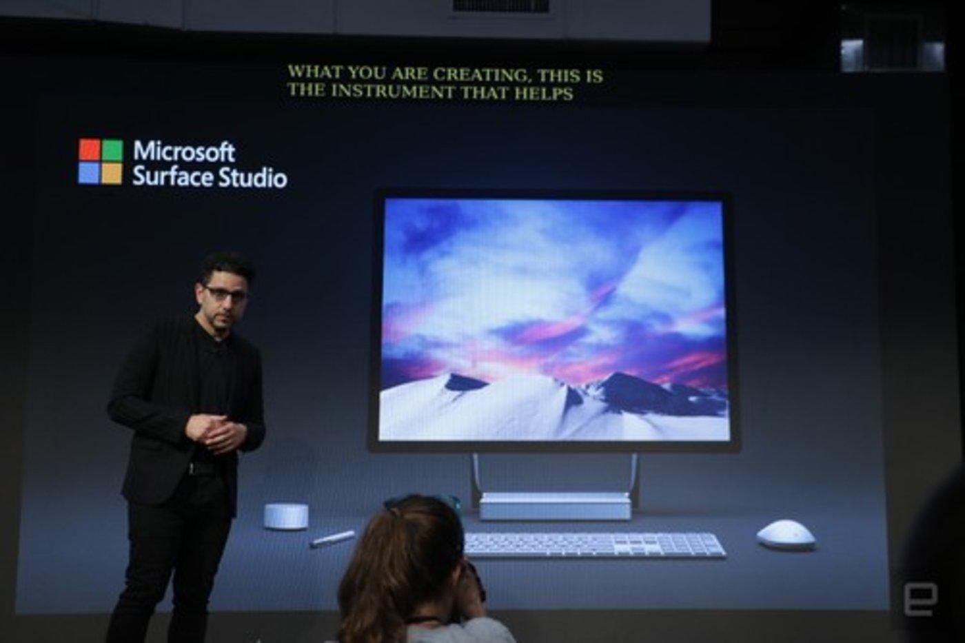 微软发布Surface Studio 2