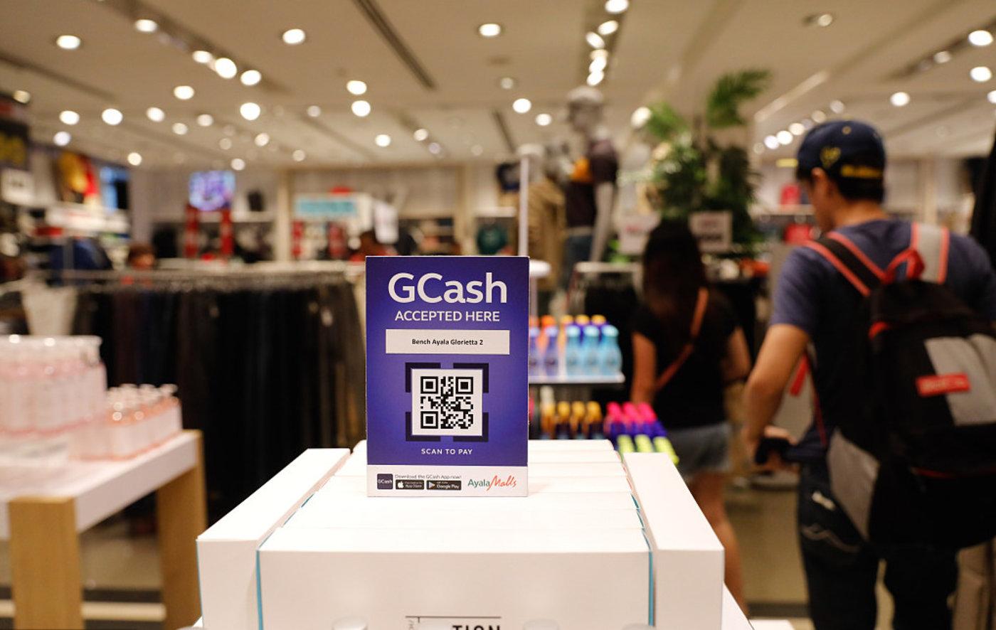 Mynt主要产品是电子钱包GCash 图片来源/视觉中国
