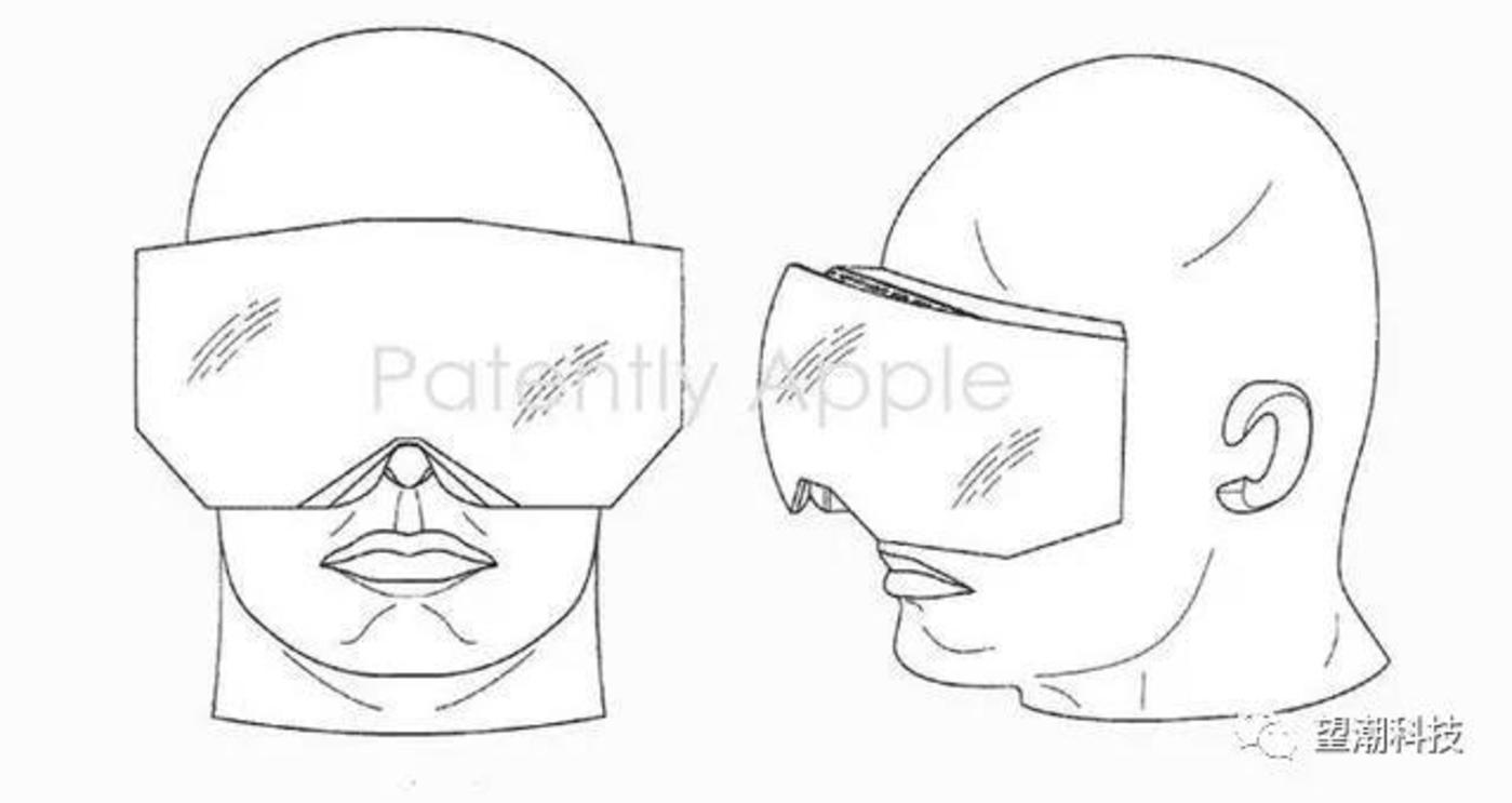 图:苹果AR眼镜专利图