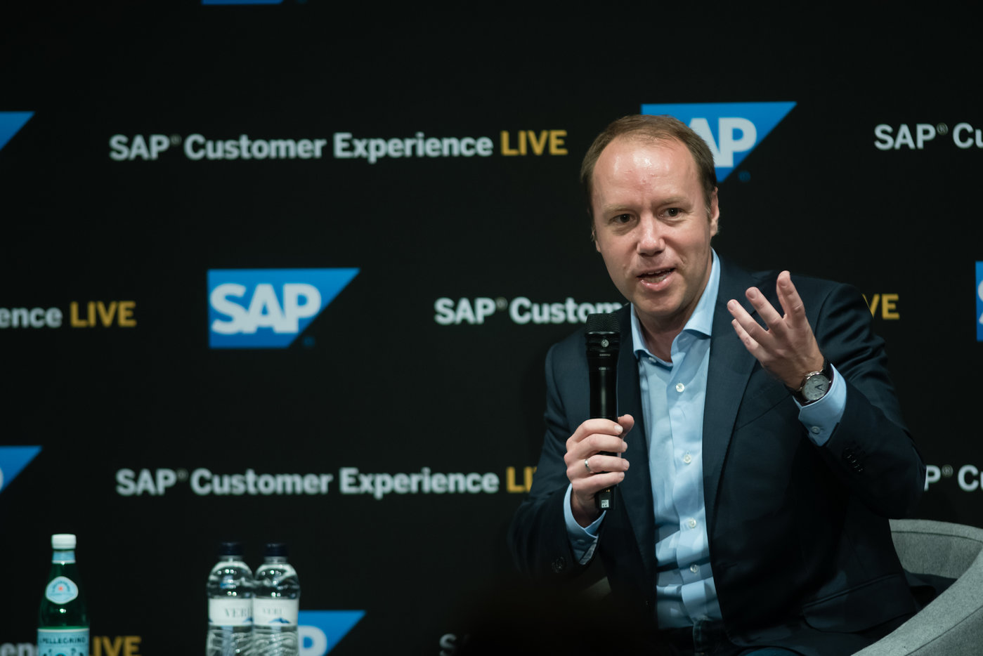 SAP安睿山接受媒体采访