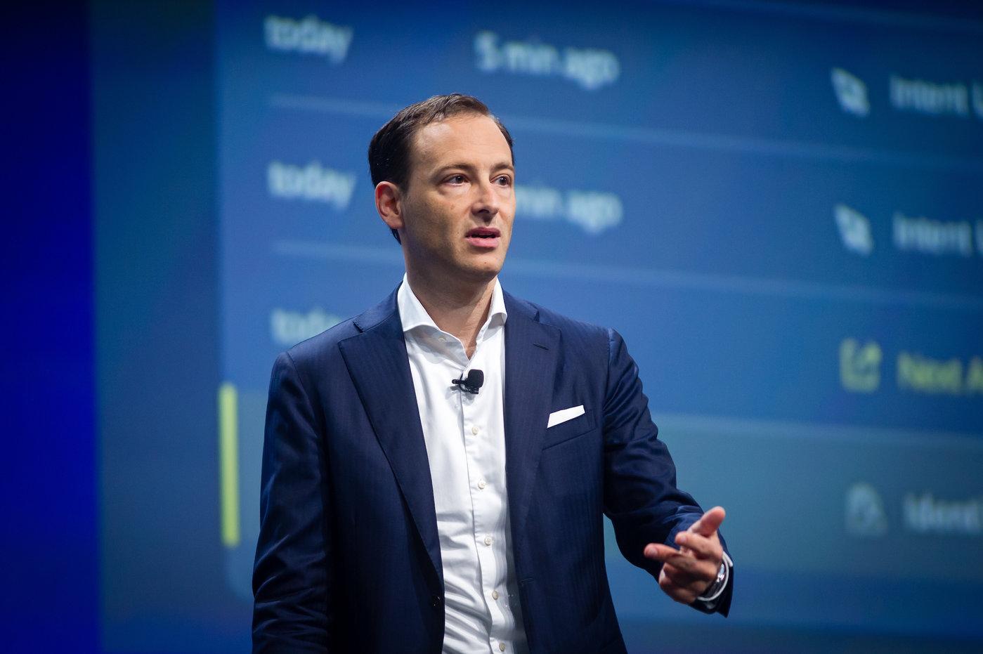 SAP客户体验首席技术官MoritzZimmermann