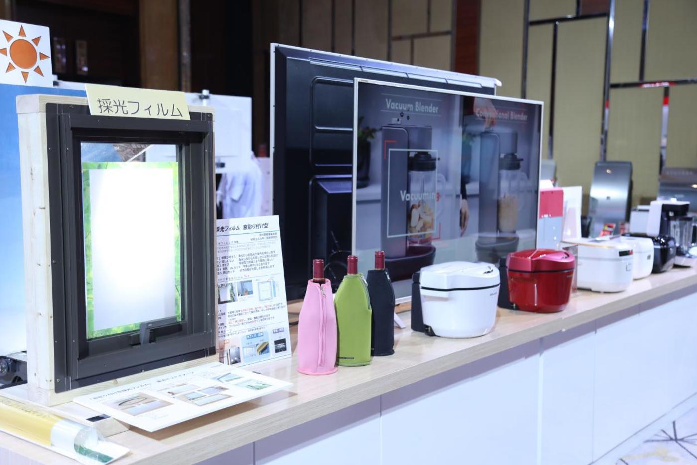 夏普还在会场展示了白电产品