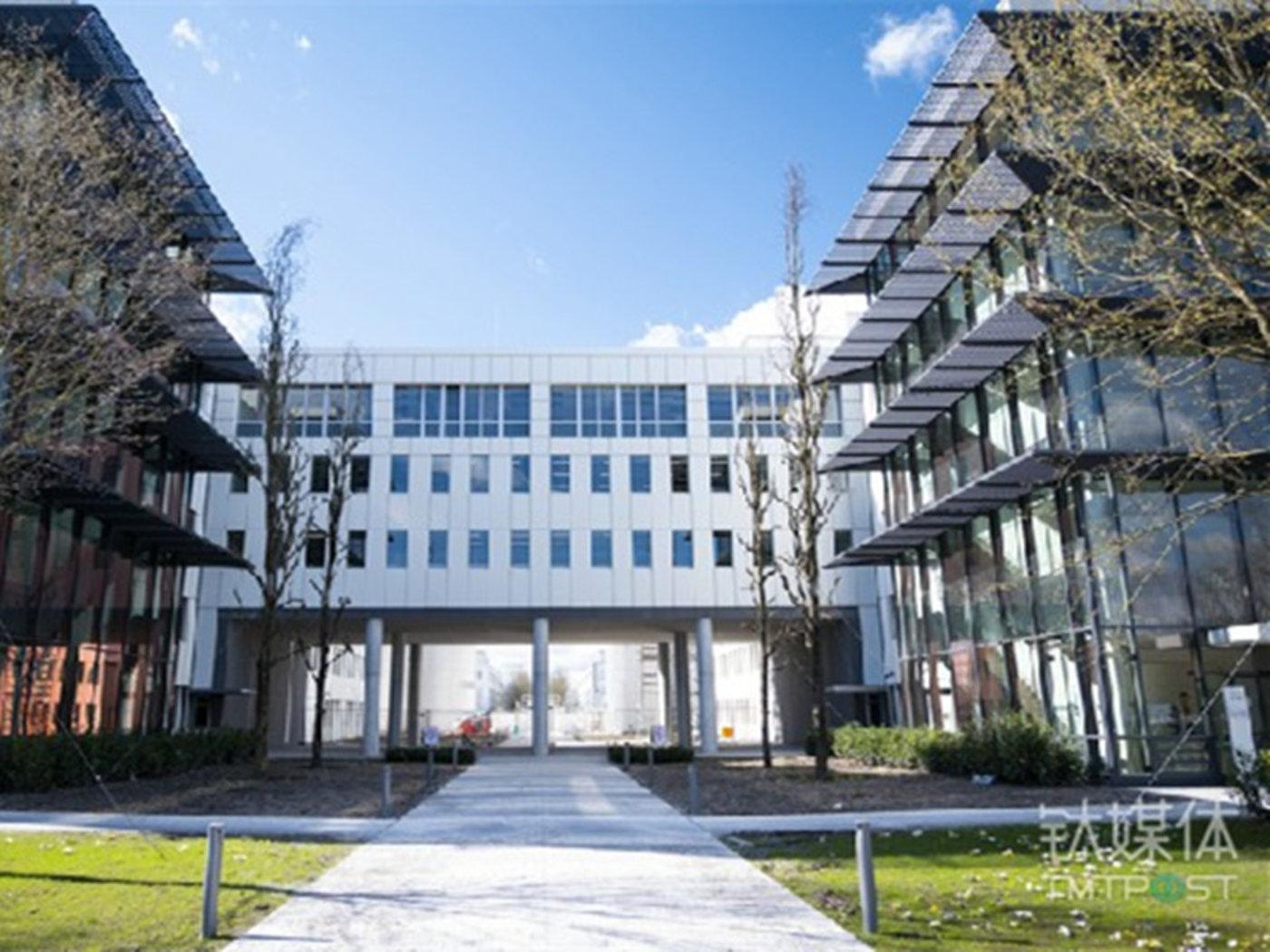 The BMW autonomous driving campus in Munich