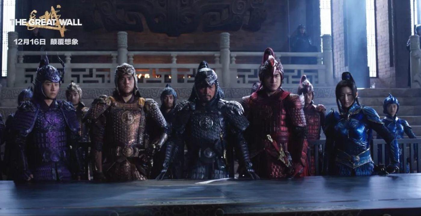 《长城》是万达购入传奇影业后推出的首部作品