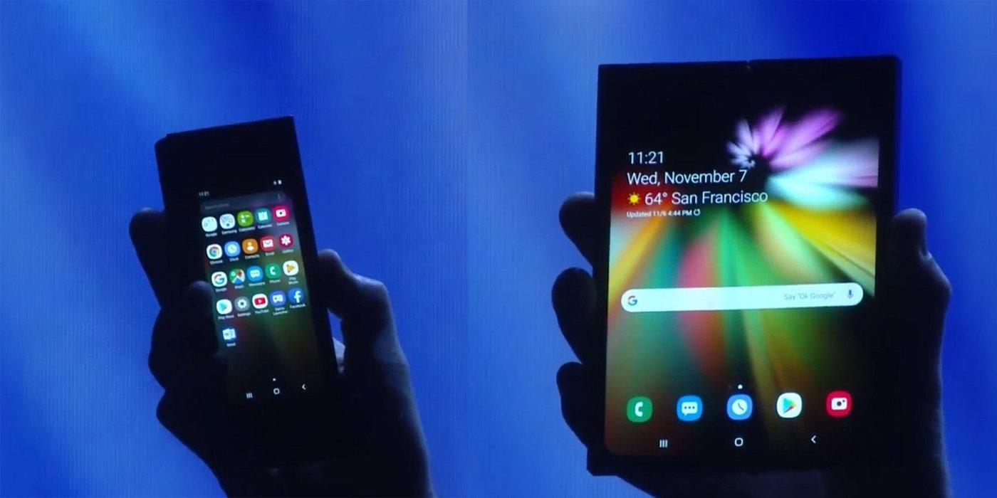 三星在SDC2018开发者大会上并没有发布可折叠屏手机,但还是首次展示名为InfinityFlex Display可折叠显示